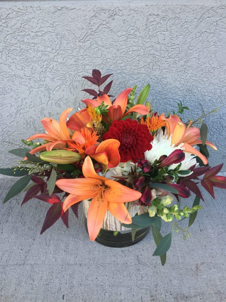 Forever Fall Arrangement Artistic Flowers And Home Decor