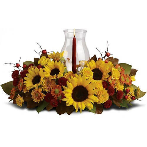 artistic-flowers-decor-lake-oswego-and-portland-flowers-thanksgiving-holiday-fall-sunflower-centerpiece