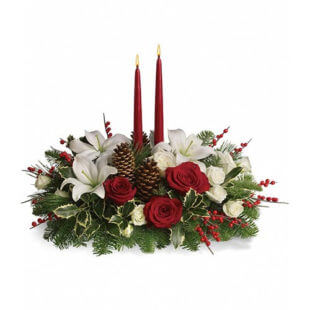 christmas-wishes-flower-arrangement-from-artistic-flowers-in-lake-owego