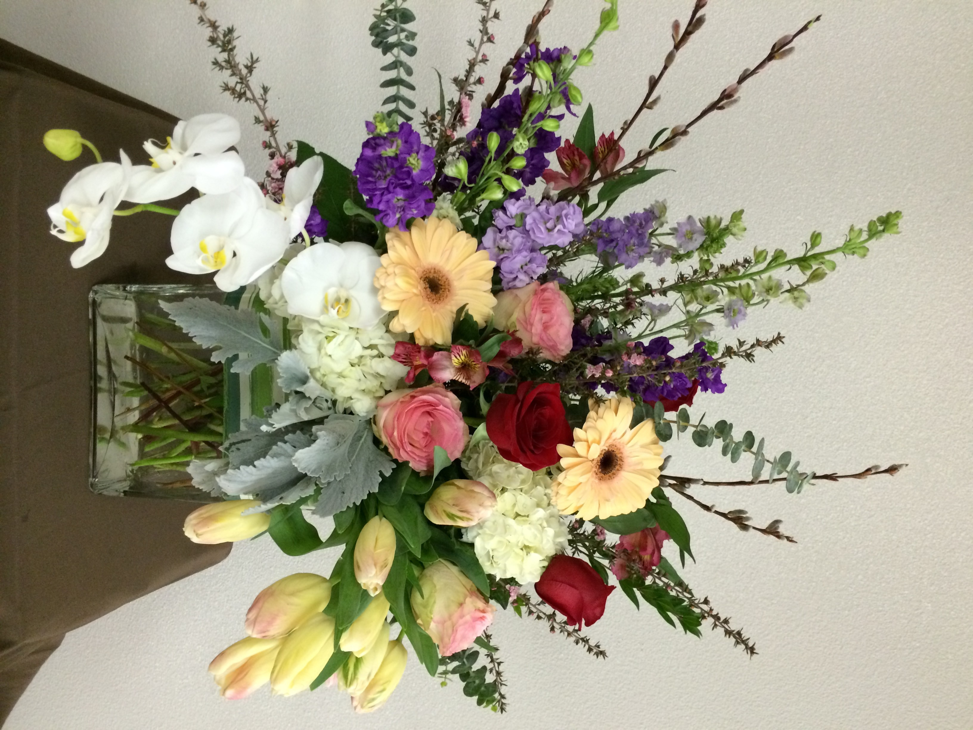Flowers delivered in lake oswego send the best fresh flowers in bursting love bouquet dhlflorist Choice Image