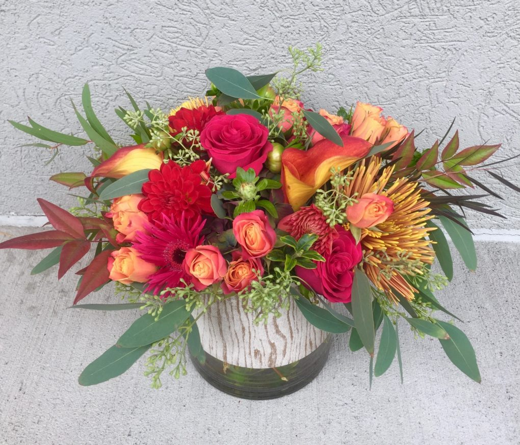 The Heart Of Fall Bouquet Artistic Flowers And Home Decor
