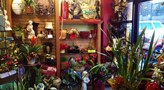 Artistic Flowers Delivery in Lake Oswego - Inside Shop Photo